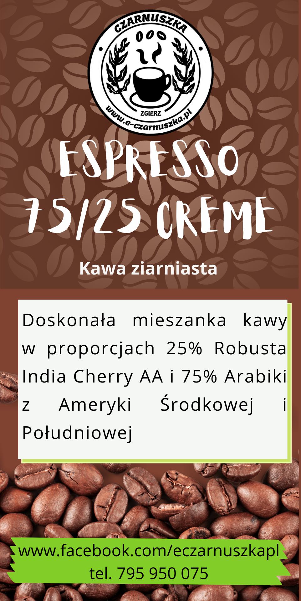 Espresso 75 25 CREME